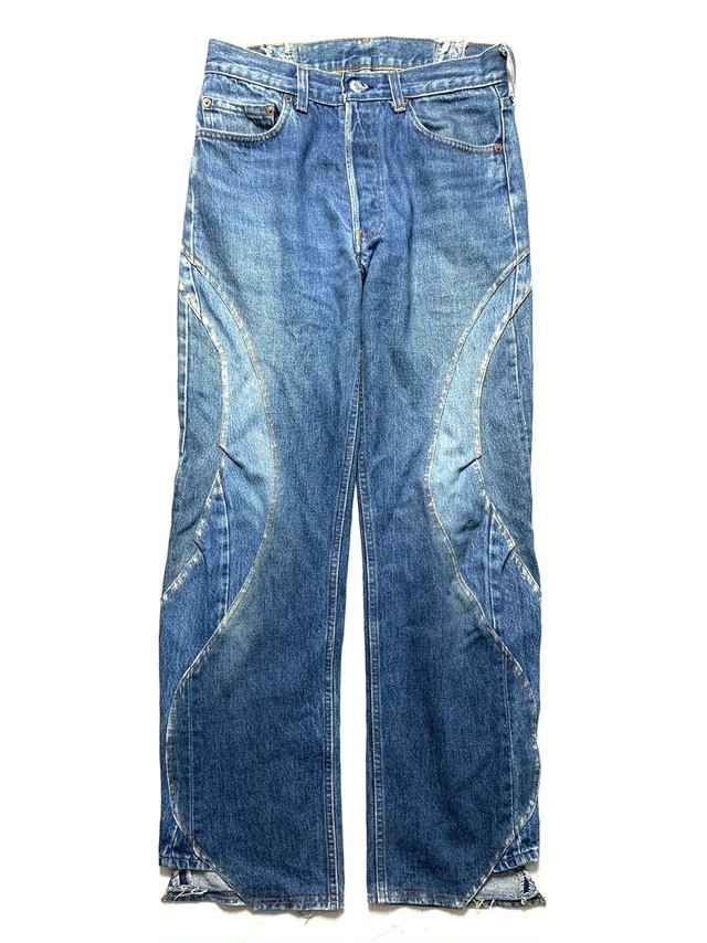 RECONSTRUCTION CUSTOM JEANS