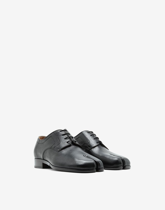 Maison Margiela Tabi Lace-up shoes black