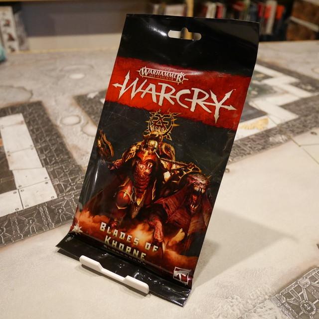 Warcry Blades of Khorne - Bloodbound Cards