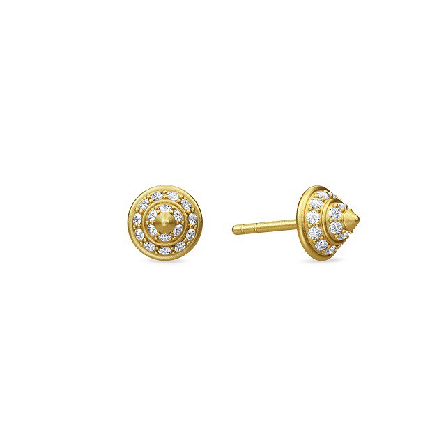 JULIE SANDLAU TWO SUMMIT EARRING