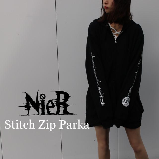 Stitch Zip Parka【ユニセックス】