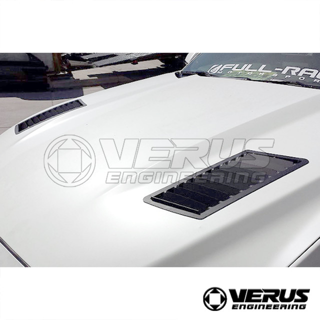 VERUS ENGINEERING(VELOX):A0066A:FORD MUSTANG フードルーバーキット:左右2枚セット