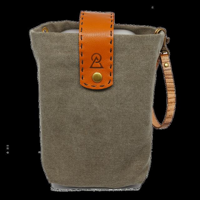 帆布製カラーバッグ(スリップメスティン_ラージサイズ用)