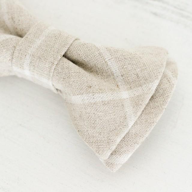 Bow tie Windowpane