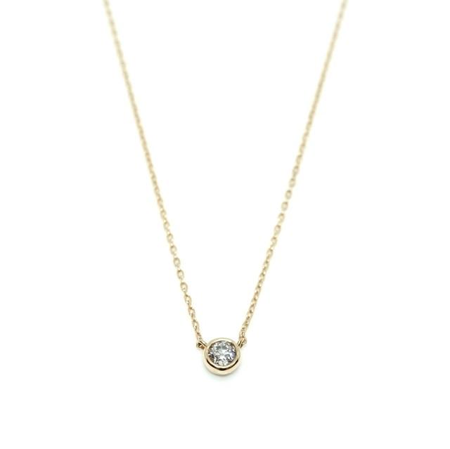 old cut vezel pendant - K18YG