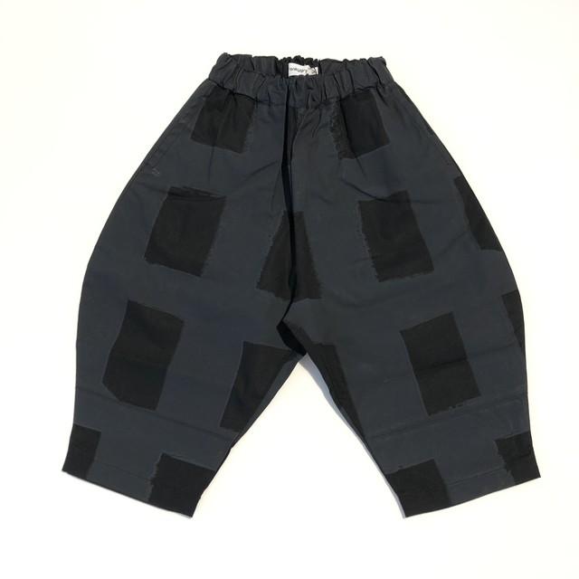 【21SS】フランキーグロウ ( frankygrow )ORIG CHECK BIG PANT[ LL ]black-black パンツ
