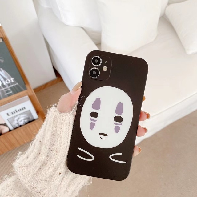 Faceless man iphone case