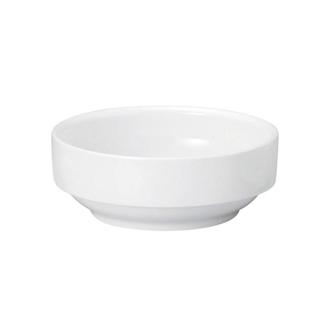 【1712-0000】強化磁器 11.5cm すくいやすい食器  白無地