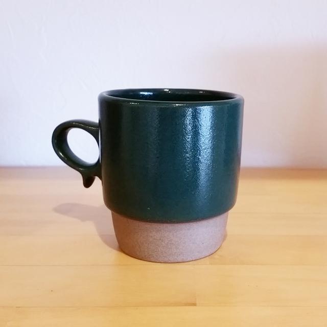 Karita 波佐見焼マグカップ Green
