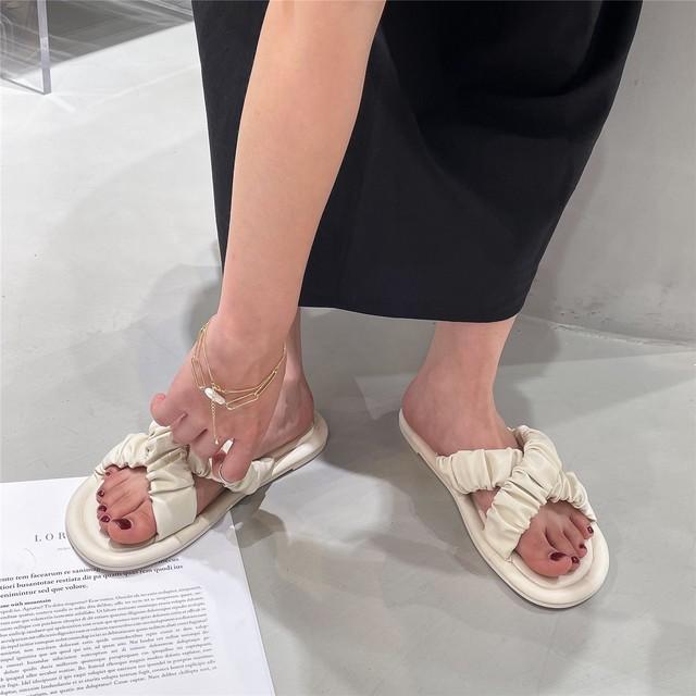 cross gather sandal 3c's
