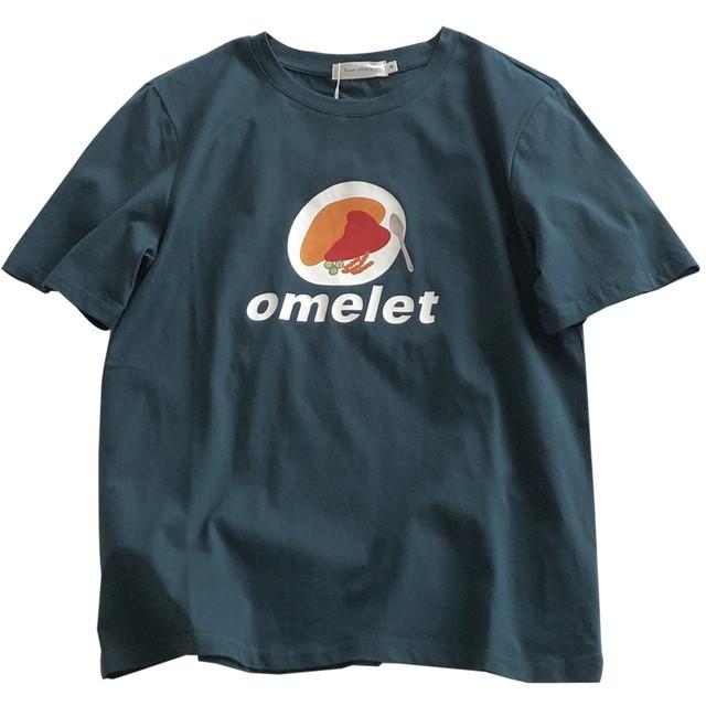〈カフェシリーズ〉omlet Tシャツ