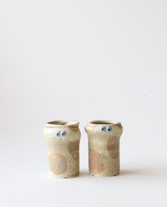 小さな植木鉢(バームくん)