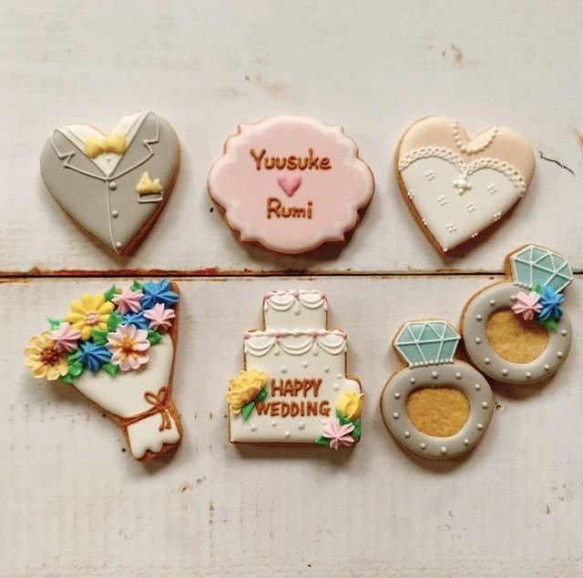 【結婚祝い】 オーダークッキー