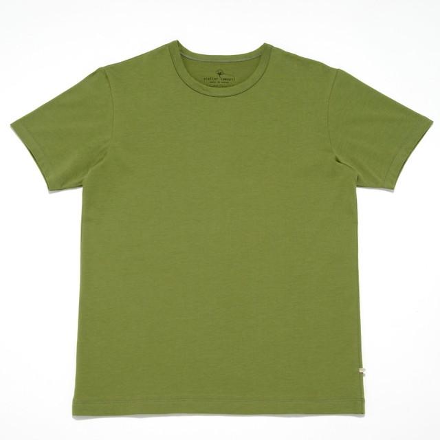 atelier comopti 究極のTシャツ スプリンググリーン ステラ・コンフリクト天竺