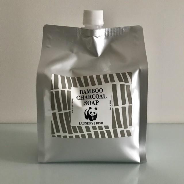 【完全無添加】【天然由来成分100%】竹炭の石けん500ml/オレンジミント|オーガニックのコスメやシャンプーBest quality