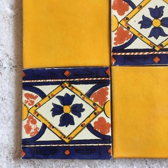 メキシコタイル フラワー 016
