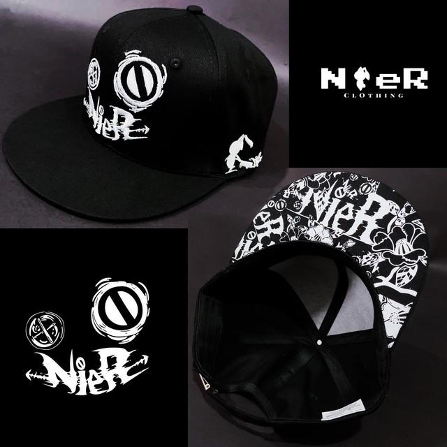 NieR FLAT CAP【FACE LOGO】