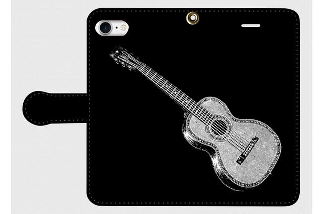 (iPhone用)ギターの手帳型スマホケース
