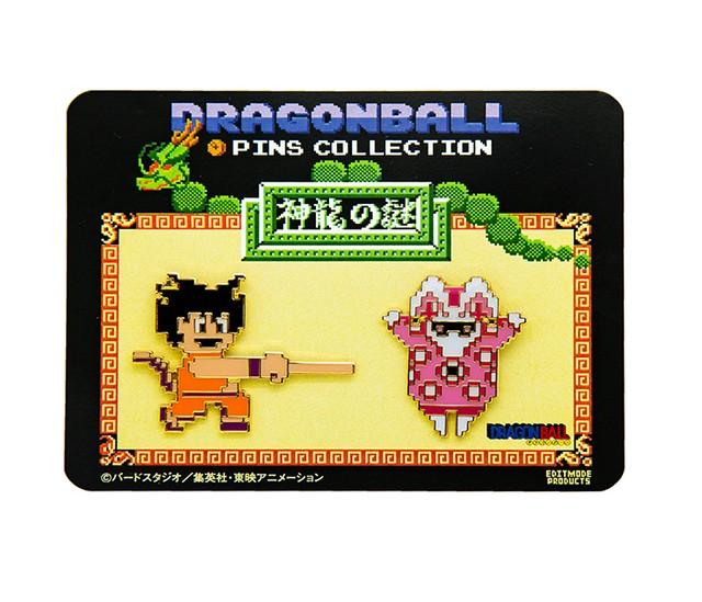 ドラゴンボール 神龍の謎/ピンズセットB (悟空(如意棒)&兎人参化)/ THE KING OF GAMES