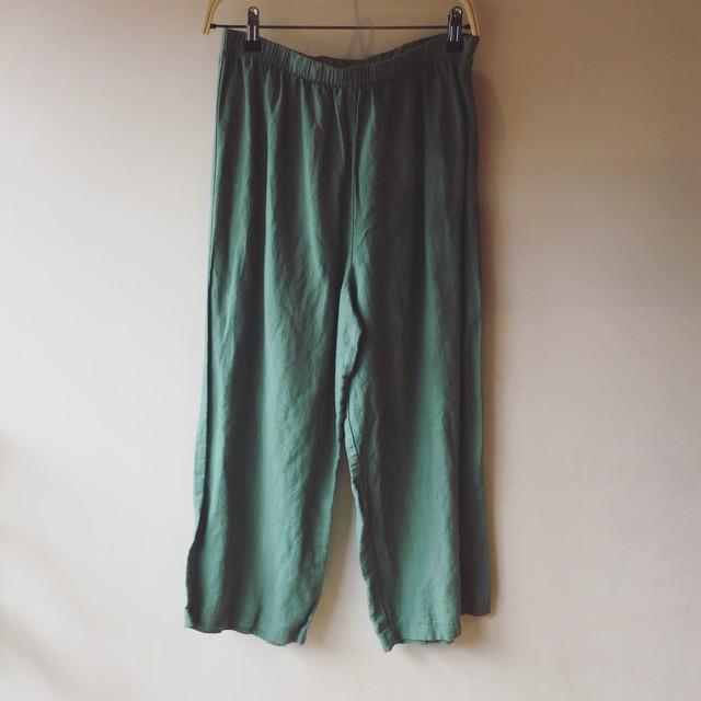 vintage linen cotton pants