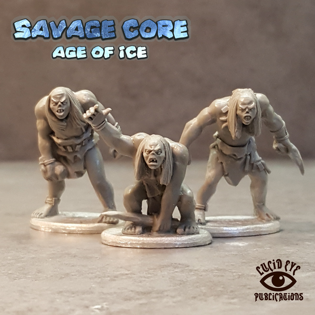 CORE1 The Corelock Bods 1 (3 figures pack)
