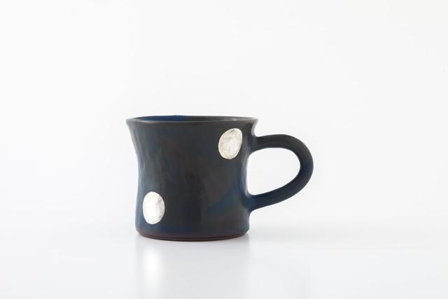 diner mug:銀ドット(06-1) / holk store × 中囿義光