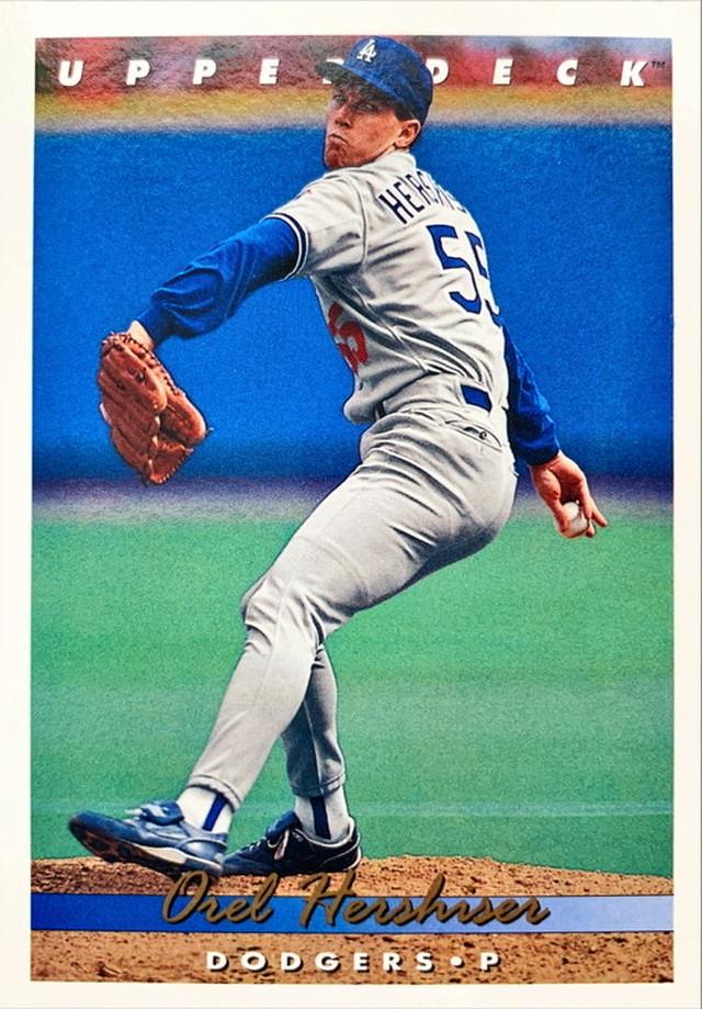 MLBカード 93UPPERDECK Orel Hershiser #169 DODGERS