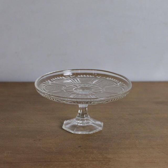 Compote  / コンポート【B】〈ケーキスタンド・食器・プレスガラス〉