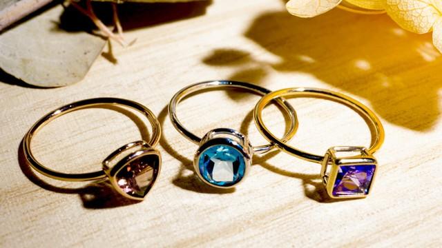 【10金】お持ちの宝石をリングにオーダー作成 [デザインNo,13]