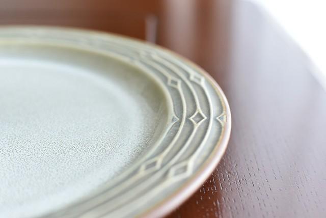 B&G コーディアル グリーン 大皿