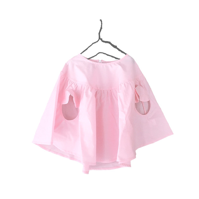 PONCHO GATHER TOPS DYED / WOMEN