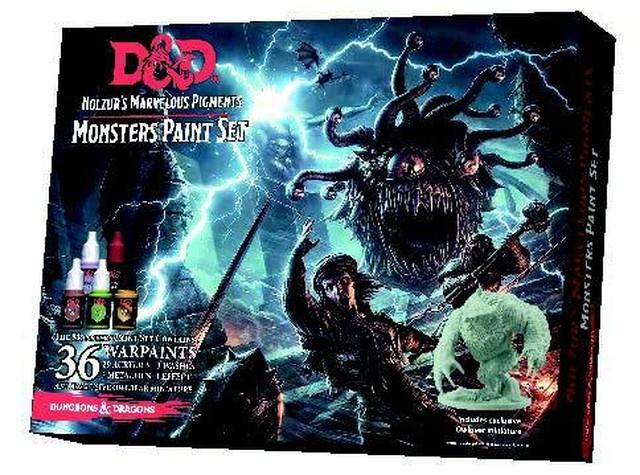 ダンジョンズ&ドラゴンズ モンスターズペイントセット