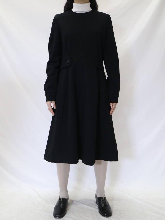 design wool dress【0585】