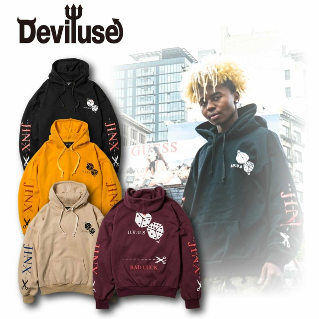 Deviluse(デビルユース) | JINX Pullover Hooded