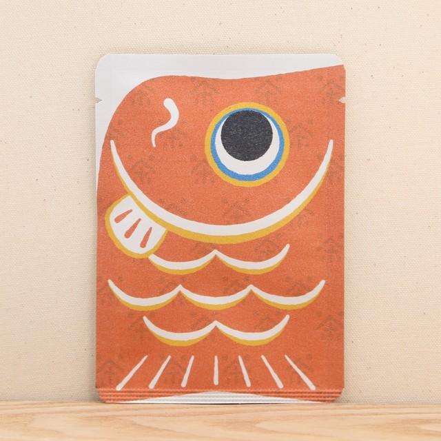 鯉のぼり茶(赤)|ごあいさつ茶