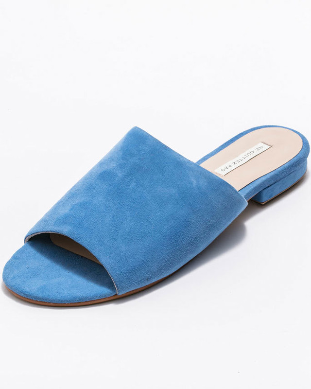 ne Quittez pas(Color suede slipper)