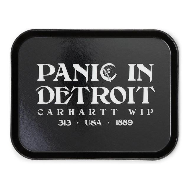 CARHARTT WIP PANIC CAMTRAY - BLACK