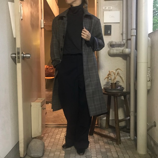 LENO&Co. (リノ) STAND FALL COLLAR COAT