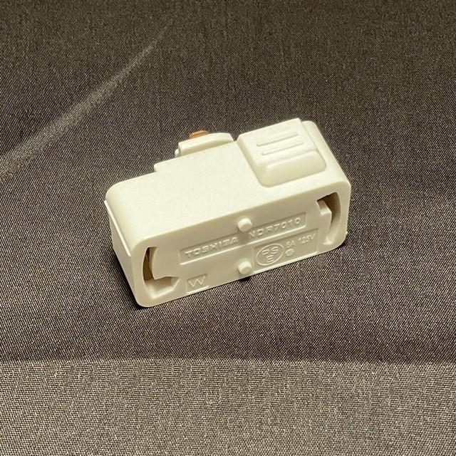 ライティングレール用引掛シーリングボディ(白) 東芝 NDR7010