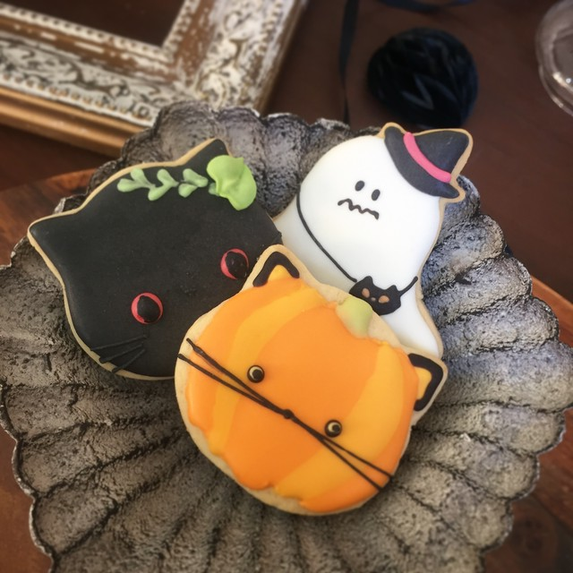 Halloween Cookie Bars - 1本タイプ×5 @378