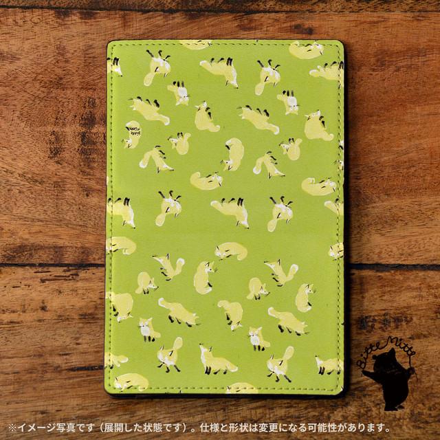パスケース かわいい カードケース かわいい 名刺入れ かわいい おしゃれ アニマル キツネの一日/Bitte Mitte!