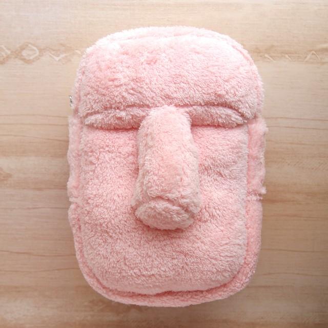 asoモアイ-ポーチ- ピンク