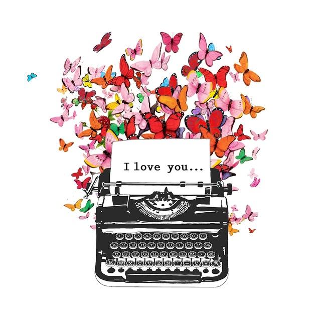 入荷しました|新入荷【Paperproducts Design】バラ売り2枚 ランチサイズ ペーパーナプキン I LOVE YOU ホワイト×レッド