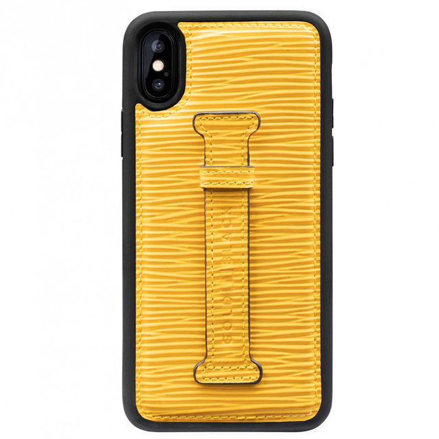 ゴールドブラック(GOLDBLACK) X / XS FINGER-HOLDER CASE UNICO YELLOW