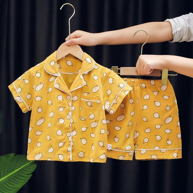 【雑貨・小物】韓国系 おしゃれ アボカド プリント ソフト 男女兼用 パジャマ29915715