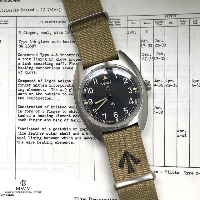 "WMT WATCH Milspec – W20 "" British Armed Forces "" / Non-Aged Version KHAKI"