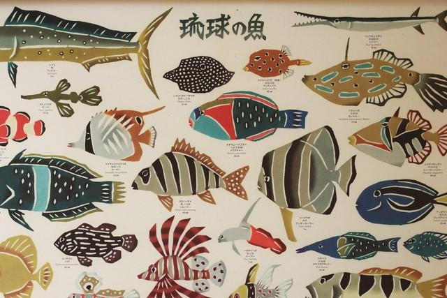 ポスター「琉球の魚」 吉田誠子