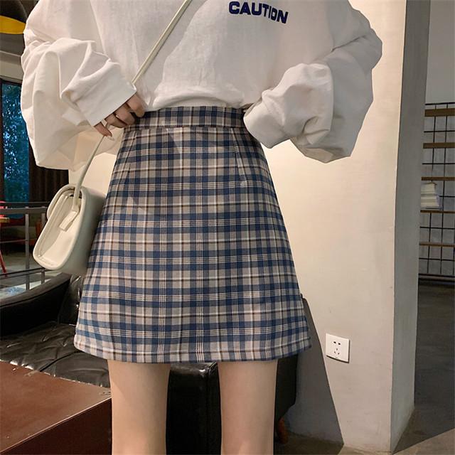 2020SS ギンガムチェックミニスカート