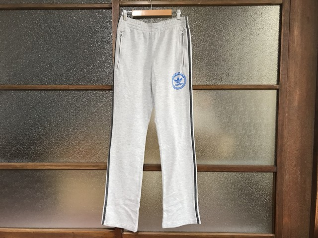 ADIDAS SWEAT PANTS (HEATHER GREY)