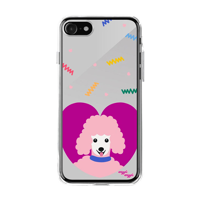 mirror-case(poodle)iPhone8/7